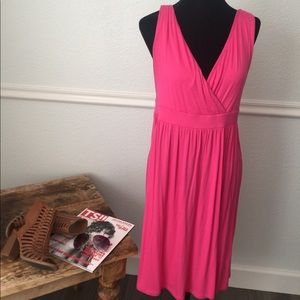 Old Navy pink swimsuit cover up dress size Large
